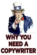 Uncle Sam telling you why you need a copywriter