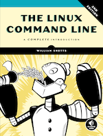 Book Cover of The Linux Command Line by William Shotts