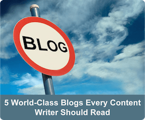 Road sign – blogs for freelance copywriters
