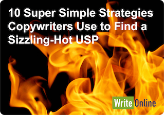10 methods a copywriter uses to find your USP