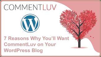 CommentLuv WordPress plugin