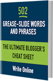 Grease-Slide Cheat Sheet